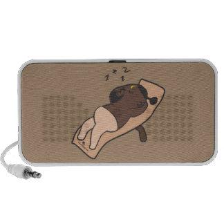 Sleeping man Doodle Travel Speaker
