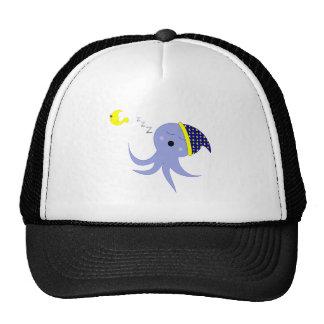 Sleeping Octopus Mesh Hat