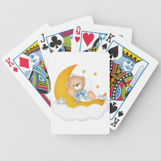 Sleeping on the Moon Bicycle Playing Cards