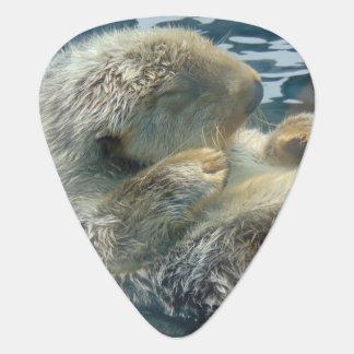 Sleeping Otter Guitar Pick