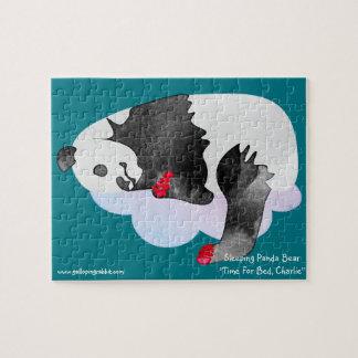 Sleeping Panda Bear  Puzzle