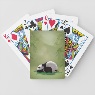 Sleeping Panda Card Deck