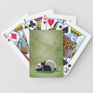 Sleeping Panda Poker Deck