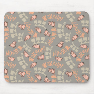 Sleeping Pigs Mouse Pad