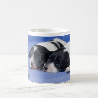 Sleeping puppies coffee mug