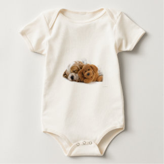 Sleeping Puppy Baby Bodysuit