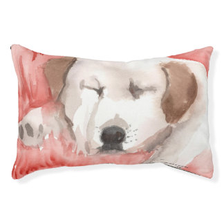 Sleeping Puppy Dog Bed