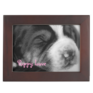 Sleeping Puppy Memory Boxes