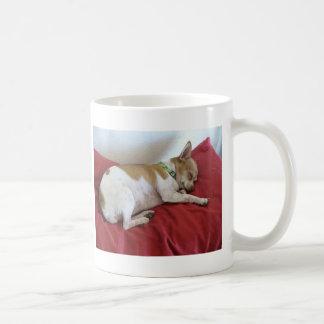 Sleeping Puppy Basic White Mug
