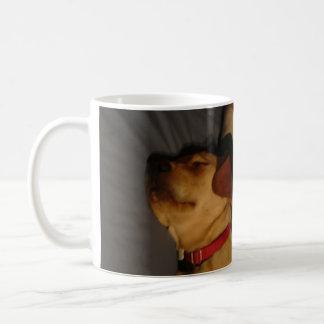 Sleeping Puppy Classic White Coffee Mug