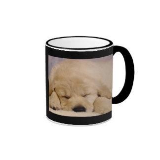 Sleeping Puppy Coffee Mugs