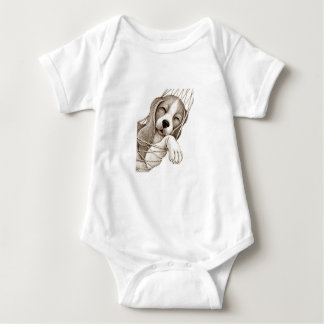 SLEEPING PUPPY SHIRT FOR BABY