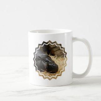 Sleeping Pygmy Hippo Coffee Mug