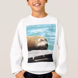 SLEEPING SEA LION SWEATSHIRT