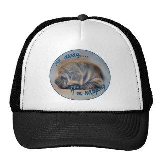Sleeping Shar Pei Puppy Cap