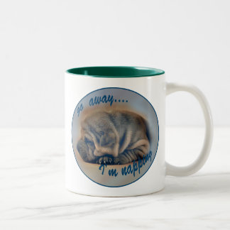 Sleeping Shar Pei Puppy Coffee Mugs