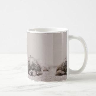 Sleeping Shih tzu Mug, Sleeping Dog Coffee Mug