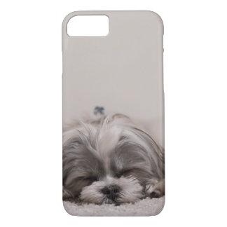 Sleeping Shih tzu Phone Case, Sleeping Dog iPhone 8/7 Case