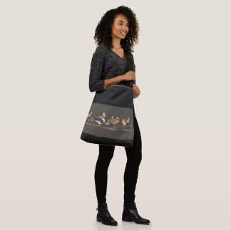 Sleeping Shorebird Birds Wildlife Animals Tote Bag