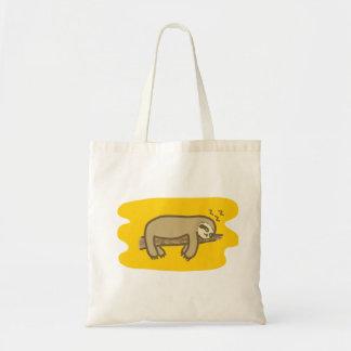 Sleeping sloth budget Tote bag