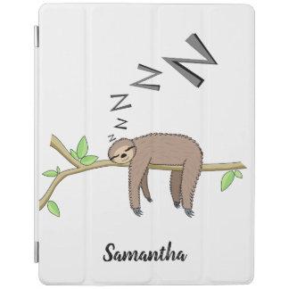 Sleeping sloth iPad cover