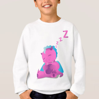 Sleeping Spiffy The Dragon Sweatshirt