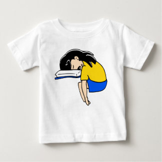 Sleeping Student Baby T-Shirt