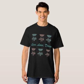 Sleeping T-Shirt, Living, Love, Dream T-Shirt