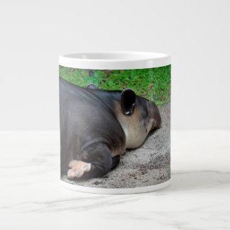 sleeping tapir animal from back zoo critter wild giant coffee mug