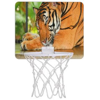 Sleeping Tiger Mini Basketball Hoop