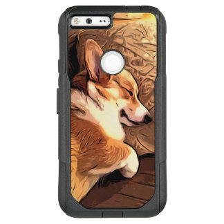 Sleeping Welsh Corgi OtterBox Commuter Google Pixel XL Case