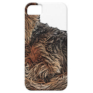 Sleeping Yorkie Barely There iPhone 5 Case
