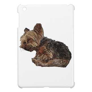 Sleeping Yorkie Cover For The iPad Mini