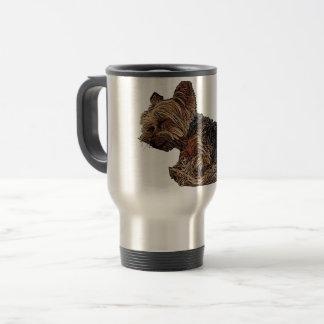 Sleeping Yorkie Travel Mug