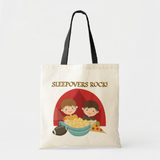 Sleepovers Rock Tote Bag