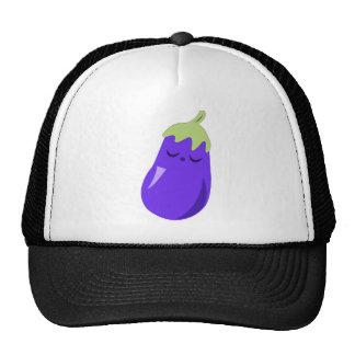 Sleepy Baby Eggplant hat