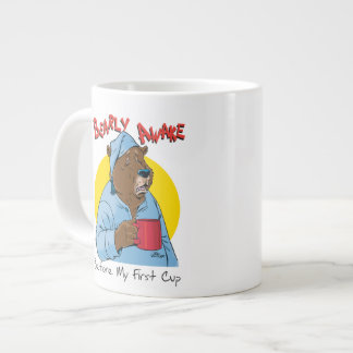 Sleepy Bear Novelty Coffee Mug