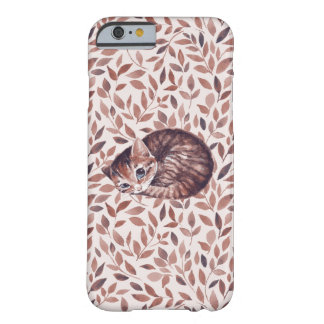 Sleepy cat barely there iPhone 6 case