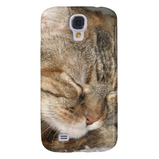 sleepy cat samsung galaxy s4 case