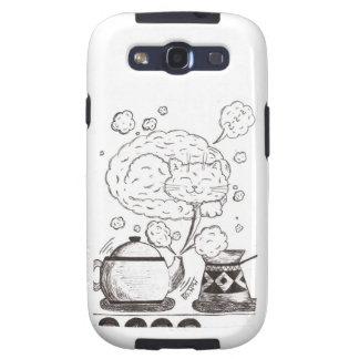 Sleepy Cat Case Samsung Galaxy S3 Covers