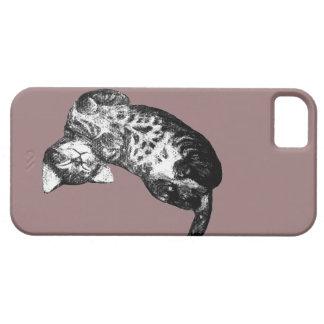 Sleepy Cat iPhone 5/5S Cover