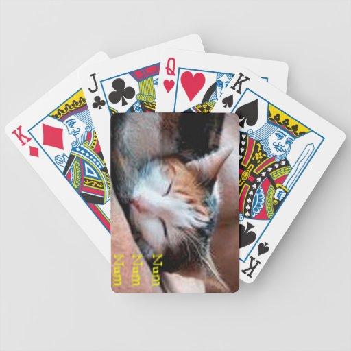 Sleepy Cat Card Decks