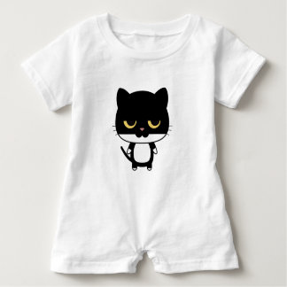 Sleepy Cat Romper Baby Bodysuit