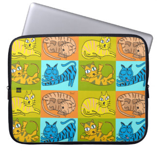 Sleepy Cats 15 Inch Laptop Sleeve