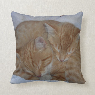Sleepy Cats Throw Cushions