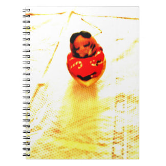 Sleepy Chipmunk Spiral Notebook