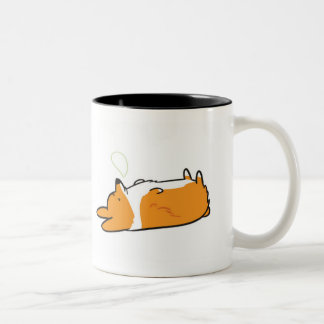 Sleepy Corgi Mug | Sleeping & Morning Corgi
