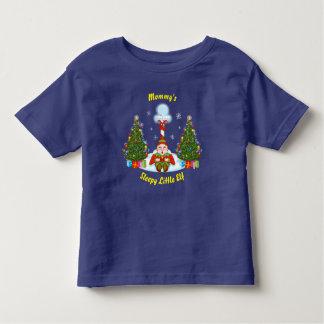 Sleepy Elf Toddler Christmas T-Shirt