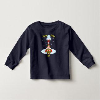 Sleepy Elf Toddler Long Sleeve T-Shirt