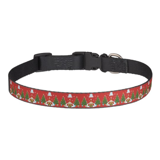 Sleepy Elf under North Pole Dog Collar